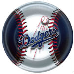Los Angeles Dodgers Plate